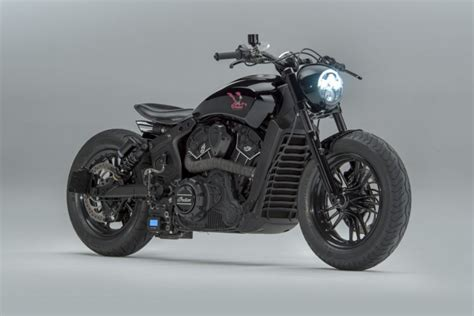 Indian Scout Sixty Modification by Road Runner A Custom Indian Scout Sixty By Motoshed
