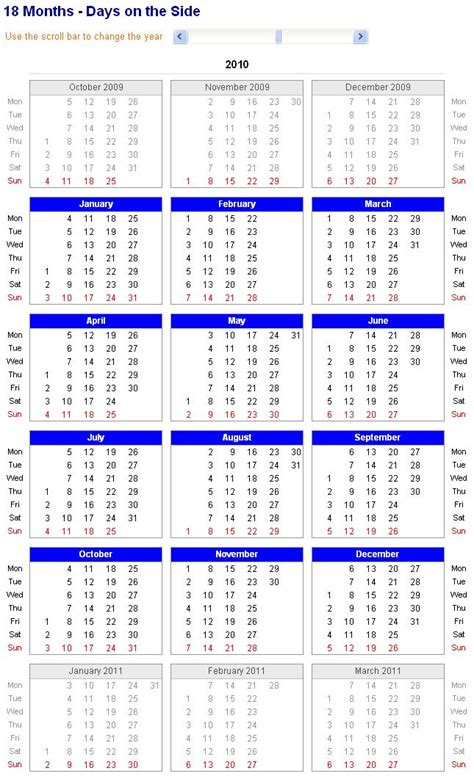 18 Month Calendar Template 103 best images about 2016 calendar on january