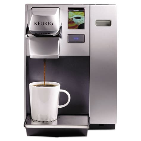 With this coffee maker, you do not need 1. keurig k155 office pro commercial single serve k-cup pod coffee maker, silver - Walmart.com ...