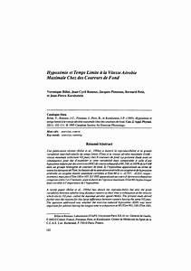 F 15 Vitesse Maximale : pdf hypox mie et temps limite la vitesse a robie maximale chez des coureurs de fond ~ Medecine-chirurgie-esthetiques.com Avis de Voitures