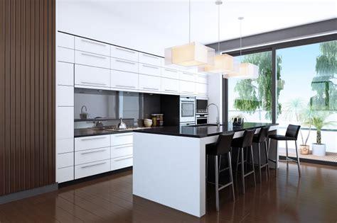 White Cabinets Dark Countertop Backsplash by 60 Ultra Modern Custom Kitchen Designs Part 1