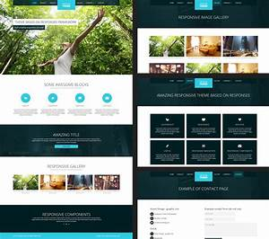 15 free amazing responsive business website templates With wesite templates