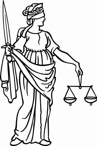 Justice Clipart Blind Clip Lady Clipground