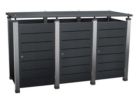 Mülltonnenboxen Edelstahl Und Boxen Für Mülltonnen Riba
