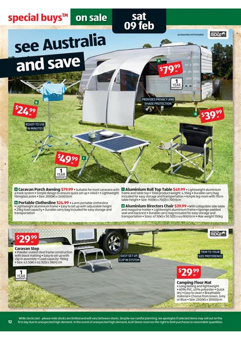 portable chair aldi catalogue special buys wk 6 2013 page 12
