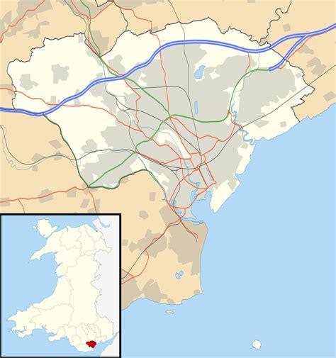 file cardiff uk location map svg wikipedia