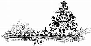 50+ Free Vintage Black And White Christmas Clip Art