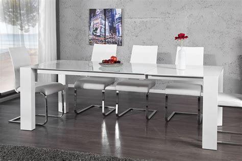 esstisch mit milchglas der beeindruckende esstisch quot expanda quot besticht durch seine hochwertige und universal einsetzbare