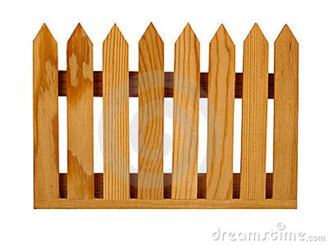garden picket fence panel isolated royalty  stock