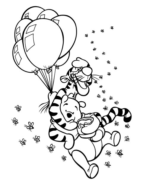 Coloring Page Winnie The Pooh Coloring Pages 61