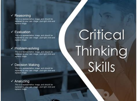critical thinking skills  samples  powerpoint