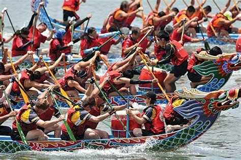 Dragon Boat Festival 2018 In London by A Race Of Dragons Cyprus Mail