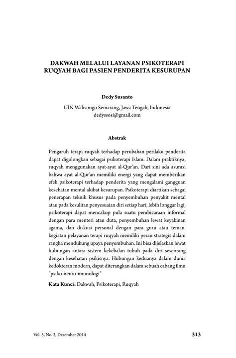 JURNAL PSIKOTERAPI ISLAM PDF