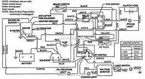 Snapper Lt160h42fbv2 42 U0026quot  16 Hp Hydro Drive Tractor Series F Parts Diagram For Electrical Schematic