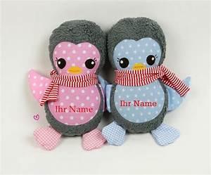 Kissen Mit Namen Nähen : mit namen kuscheltier pinguin kissen pinguin von bella gretel auf n hen ~ Watch28wear.com Haus und Dekorationen