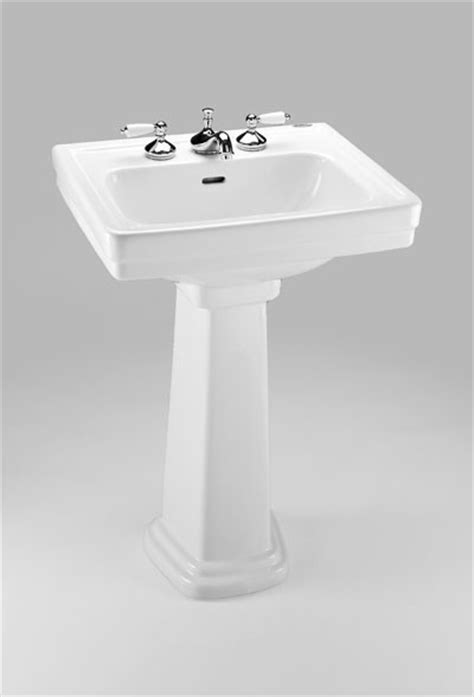 Toto Promenade Pedestal Bathroom Sink by Toto Promenade 24 X 19 Pedestal Lavatory Lpt532n