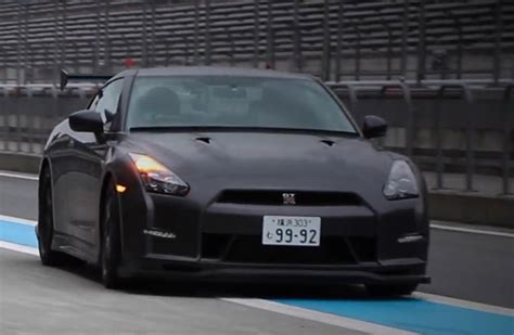 nissan gt  nismo  attack package video