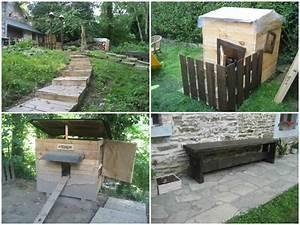Recyclage Palette : recyclage de palettes recycled pallet projects 1001 ~ Melissatoandfro.com Idées de Décoration