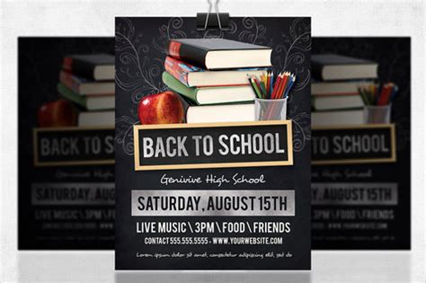 school flyer templates sample templates