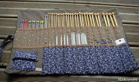 trousse rangement aiguilles 224 tricoter mes petites bricoles tricoter aiguilles