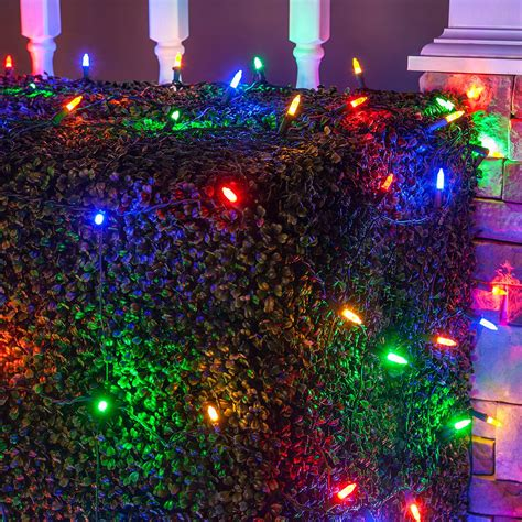 led net lights   multicolored led net lights