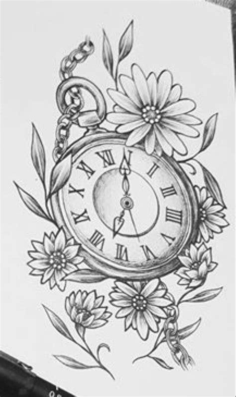 Pocket Watch Tattoos | Pocket watch tattoos, Watch tattoos