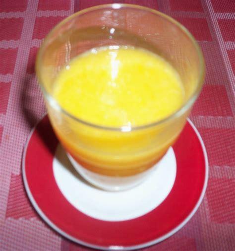 cuisines senegalaises mangue ananas orange smoothie senecuisine