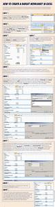 How To Do An Org Chart In Excel How To Create A Budget Worksheet In Excel