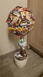 Süßigkeiten Baum Selber Machen : s igkeiten baum als nettes geldgeschenk backen pinterest ~ Orissabook.com Haus und Dekorationen