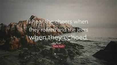 Deliberate Lies Jeers Cheers Roared Hear Tell