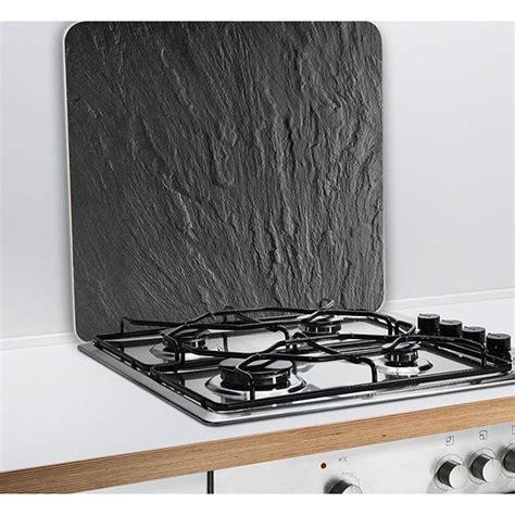 plaque protection murale cuisine protection murale en verre ardoise wenko protection plaques de cuisson crédence