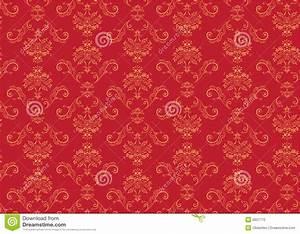 Victorian Wallpaper Pattern Stock Vector - Illustration ...