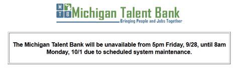 Www Mitalent Org Resume by The Mi Talent Bank Is Dead Live Michigan Talent