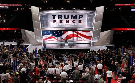 convention republican trump republicans champions national rock