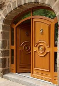 Porte D Entrée En Bois Moderne : notre porte mod le castellane bel 39 m bois pour votre villa pr s de vitrolles vente pose et ~ Nature-et-papiers.com Idées de Décoration