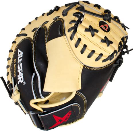 35 Inch All-Star Mid Level CM3100BT Adult Baseball Catcher's Mitt
