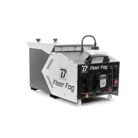 floor fog machine  fumee boomtone dj boomtonedj