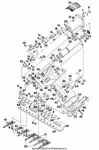 Gravely 10281 Mower 42 U0026quot  Sickle Parts Diagram For Sickle