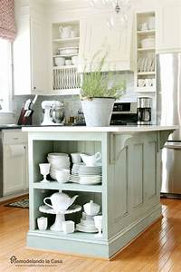 best 25 kitchen island makeover ideas on pinterest With kitchen colors with white cabinets with duck sticker