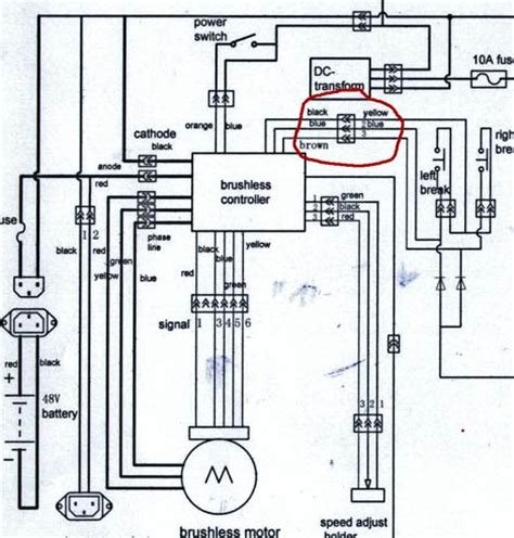 Dc Voltage Power Supply Wiring Harnes Color by Xb 500 Controller Wiring V Is For Voltage Electric