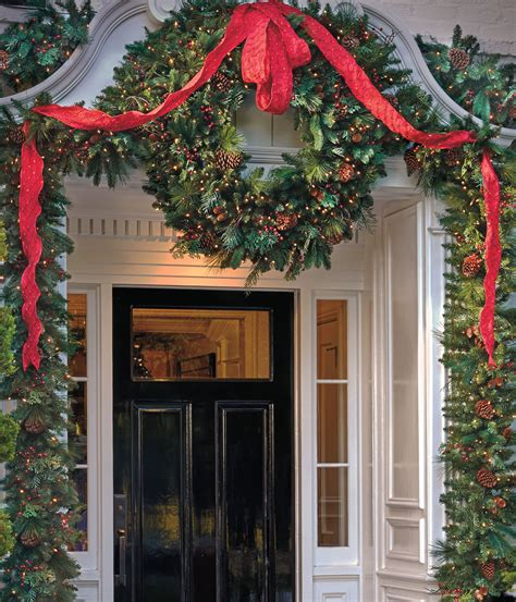 welcoming holiday entryway   easy steps