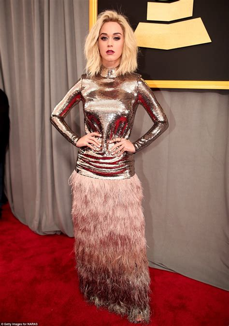 Katy Perry drops curse word on live TV at Grammys | Daily ...