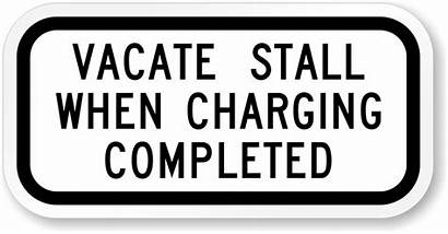 Stall Vacate Charging Completed Parking Electric R7