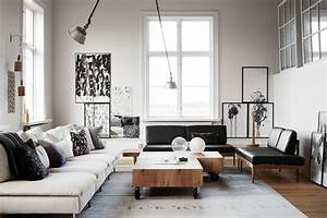 yvla skarp39s home coco lapine designcoco lapine design With decoration interieur noir blanc gris
