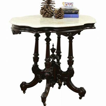 Marble Antique Table Victorian Parlor Lamp Tables
