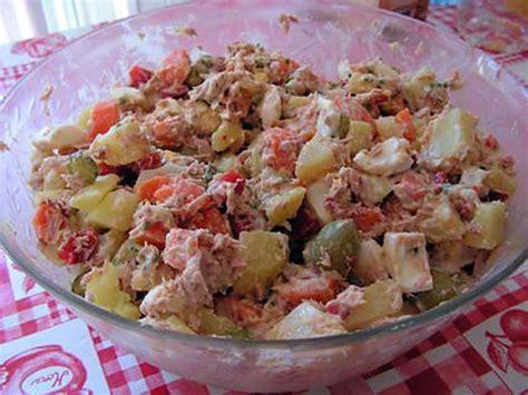 cuisine russe recette recette de salade russe par kekeli