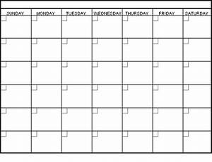 blank calendar template printable calendar templates With calendar template by vertex42 com