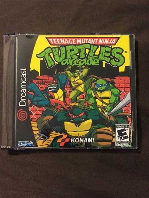 teenage mutant ninja turtles arcade game custom sega