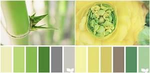 Farbpalette Wandfarbe Grün : gr n und gelb mit grau und braun kombinieren farbpalletten pinterest grau und braun gelb ~ Indierocktalk.com Haus und Dekorationen