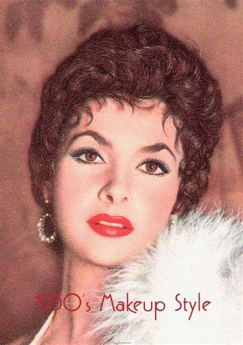1950s Hairstyles And Makeup by Vintage 1950s Makeup Vintage Makeup Guides